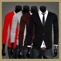 spring fashion new 2014 cardigans mens knitting shirt trussardi knitwear men korean sweater teddy smithman cardigan hot sale top