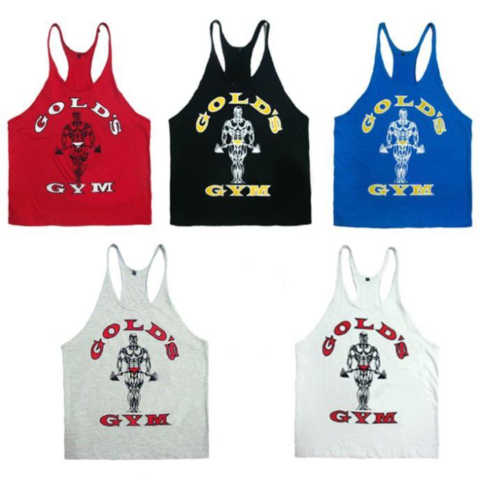 e0835 muscular dos homens tops profissional alcinhas musculação fitness colete formação 100% exercícios algodão roupas esportivas(China (Mainland))