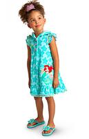 Baby Kids Girls Toddler Princess Fancy Dress Short Sleeve Children Dress Cartoon Costume Hooded Outfits Dresses LT-300