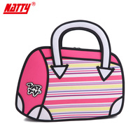 Natty2013 top cartoons bags women's handbag female handbag candy color small bag