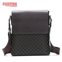 2014 Summer NEW Men Bag Fashion Shoulder Bags Men Messenger Bags Genuine Leather Briefcase Tote Men's Messenger Bags Black