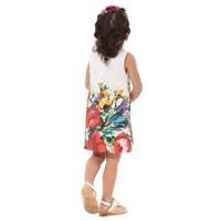 Free shipping 2014 new summer dress girls cotton flowerdress children's clothing wholesale girls lot