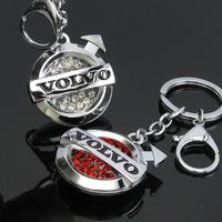 Free shipping Volvo (Volvo) car logo set auger key chain Key chain key ring key lock gifts gifts Christmas