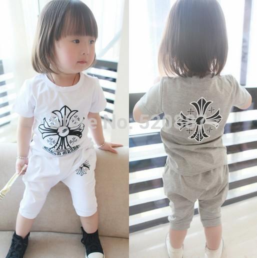 Комплект одежды для девочек 1 piece t-shirt + 1 piece pant twinset TZ074