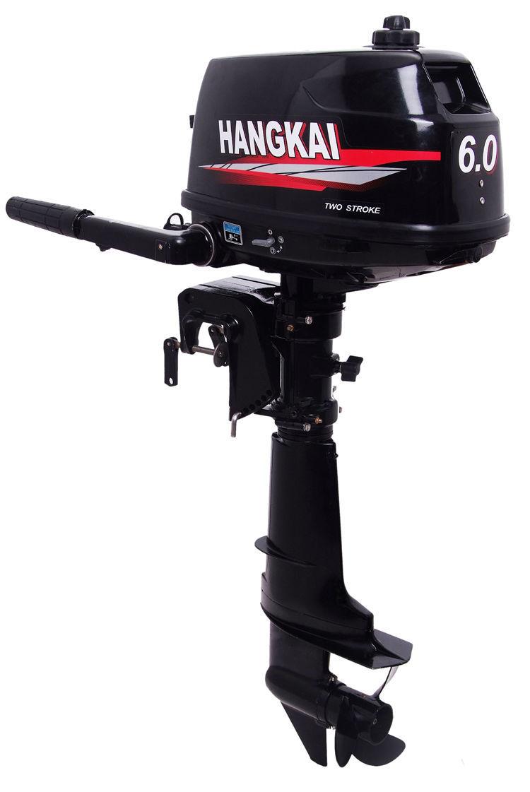 6.0hp dois- tempos motor de popa motor do barco água- de refrigeração kit(China (Mainland))