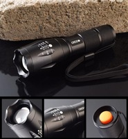 UltraFire E17 CREE XM-L T6 2000Lumens cree led Torch Zoomable cree LED Flashlight Torch light  Flashlights & Torches Free ship