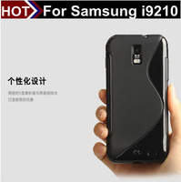 For samsung i9210 TPU black/grey/purple aliexpress free shipping TPU back cover for samsung i9210 from shenzhen