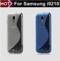 For samsung i9210 TPU black/grey/purple aliexpress free shipping wholesale i9210 case for samsung from shenzhen