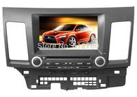 Car DVD Player for MITSUBISHI LANCER 2006-2012 with GPS Bluetooth IPOD TV Radio Free Shipping