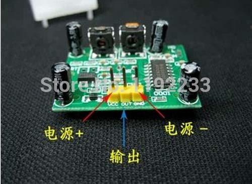 10pcs lot HC SR501 IR Detector Module PIR Sensor Security Infrared Pyroelectric Sensor Detector Module