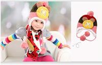AliExpress classic flower child handmade hat double braid ear style cap a generation of fat children