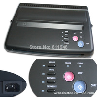 Free shipping by DHL 1PCS Tattoo Stencil Maker Thermal Copier Transfer Machine For Paper Black