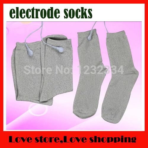 3pcs/lot Silver fiber socks,care physical therapy socks, promote the blood circulation, Foot massage socks(China (Mainland))