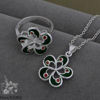 AS546 fashion jewelry set 925 sterling silver jewelry set /dbaalsha fksaobza