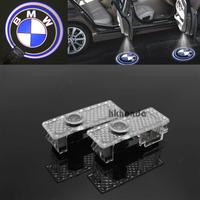 2Pcs 3D LED Door courtesy Shadow Projector logo Light for BMW 1 3 5 6 series car door light