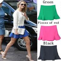 sheer skirts 2014 New  jupe Summer saia Casual Fishtail  Skirts Womens Midi Skirts Female With Sashes saias femininas faldas