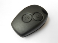 2 Buttons Replaced Remote Case Fob Car Key Shell for Renault