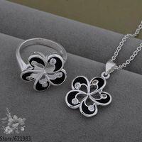 AS544 fashion jewelry set 925 sterling silver jewelry set /dayalsfa fkqaobxa