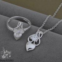 AS539 fashion jewelry set 925 sterling silver jewelry set /datalsaa fklaobsa