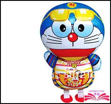 Free Shipping Doraemon pet balloon Walking animal walking pet balloons nice children toys children gift(China (Mainland))