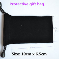 100pcs/lot Wholesale Small Protective Gift Bag Size 10x6.5cm for mp3 mp4 player etc