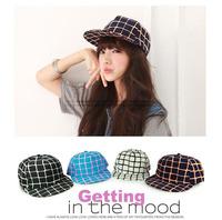NEW FASHION grid snapback hip hop  Cap New Baseball hat  Flat Bill Visor hats