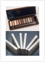 6pcs/lot  nake palette makeup nake2 Brand 12 colors eye shadow maquiagem makeup necessary makeup eye shadow mix palette