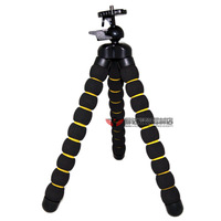 Special wholesale octopus Octopus Tripod SLR camera tripod adjustable shelf Sponges 10pcs/lots