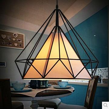 nido di uccello classica forma di ferro e luci pendente tessuto sala da pranzo luci di natale luce festa della luce