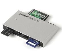 7566 c3 all aluminum mobile phone camera SD TF CF card start multi-function card reader (China (Mainland))