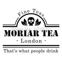 High quality sherlock holmes Moriar Tea brand casual fashion tee t-shirt dress camiseta clothing