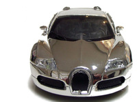 1:36 Buga tti Veyron Diecast Car Model Toy Gift Collection with Sound&Light Silver  Free Shipping