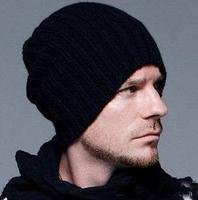 Beckham knitted men's hat Fashion hat han edition to winter  Skullies & Beanies