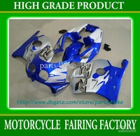Hot slae gary bluefairing kit for  CBR250RR MC22 1991-1995-1998 CBR250RR 91-98  RX3b