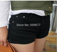 2014 new summer girl fashion pencil-pants Stretch leggings plus size middle waist trousers shorts colorful fit 40kg-65kg