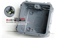 TC1 86-type switch socket coincide Universal bottom box 86 piece socket cartridge 1pcs