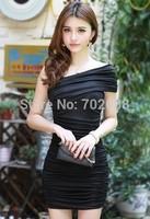 Retail new 2014 Korean version Sexy & Club women summer dress casual dresses
