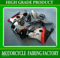 Silver black red fairings body kit for  CBR250RR MC22 1991-1996 CBR250RR 91-97  RX2z