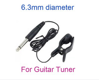 5pcs/lot Universal Clip-line Pickup Pick up Connect Guitar to Tuner I96 Free drop shipping