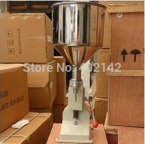 100% Warranty Manual Cosmetic Cream Filling Machine, Lotion Filling machine(5-50ml), Manual paste filler factory direct sales(China (Mainland))