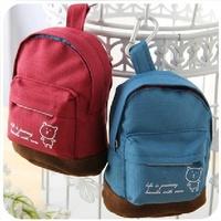 Wholesale Women Korean Style creative cute canvas bag zipper designer small key holder coin purse brand dropship free shipping