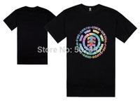 new 2014 free shipping autumn summer cotton multicolors fashion male loose basketball street men sports man element T shirts