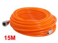 8mm x 5mm Polyurethane PU Air Compressor Hose Tube Orange Red