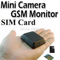 Free shipment 8G Portable Voice Monitor Hidden Video Camera GPS Tracker Phone SIM Card