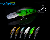 Trulinoya DW32 160mm 16g Quality Plastic Minnow fishing lures fishing hard bait