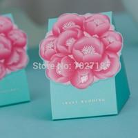 Unique design laser cut wedding favor box/wedding favour box/wedding favor/box favor/candy box