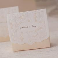 Unique design laser cut elegant flower wedding favor box/wedding favour box/wedding favor/box favor/candy box