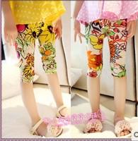 Female child summer legging child legging children's clothing 2014 summer
