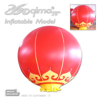 Free shipping !!! 2mD Chinese traditional inflatable Lantern helium balloon
