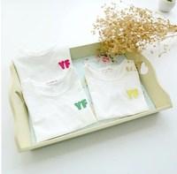 Children's clothing 2014 summer female child short-sleeve T-shirt children's female child clothing child basic shirt